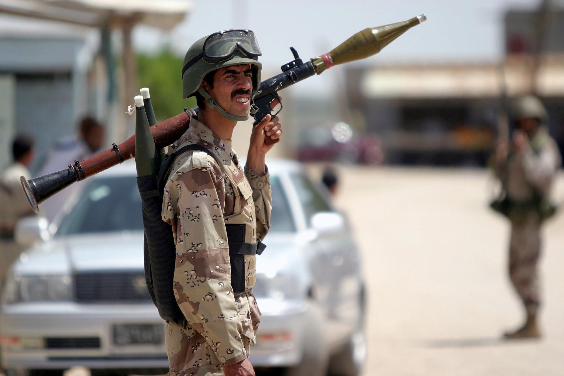 RPG-7 în Irak