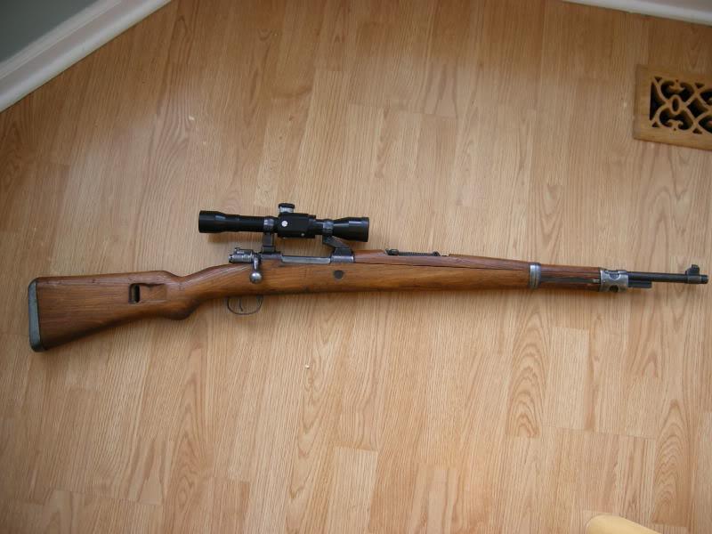 Mauser M48 sniper