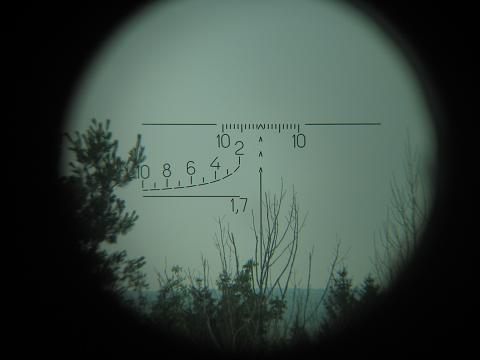 Reticul lunetă PSO-1