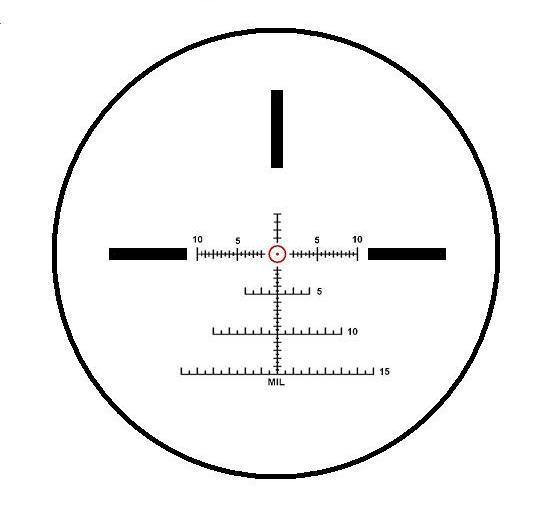 Reticul IOR 1.5-8x26